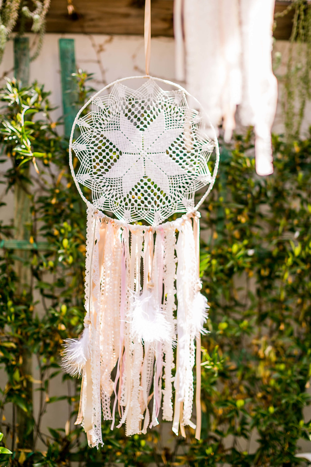 Bohemian Dream Catcher 1 - Provenance Vintage Rentals Los Angeles Boho Decor Rentals Vintage Wedding Decor Party Rentals Specialty Rentals
