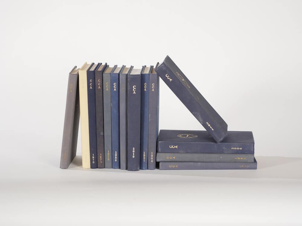 Nautical Digest Books, Set of Five 2- Provenance Vintage Rentals Los Angeles Vintage Book Rentals Navy Blue Books Vintage Wedding Decor Prop Rentals Party Rentals Specialty Rentals