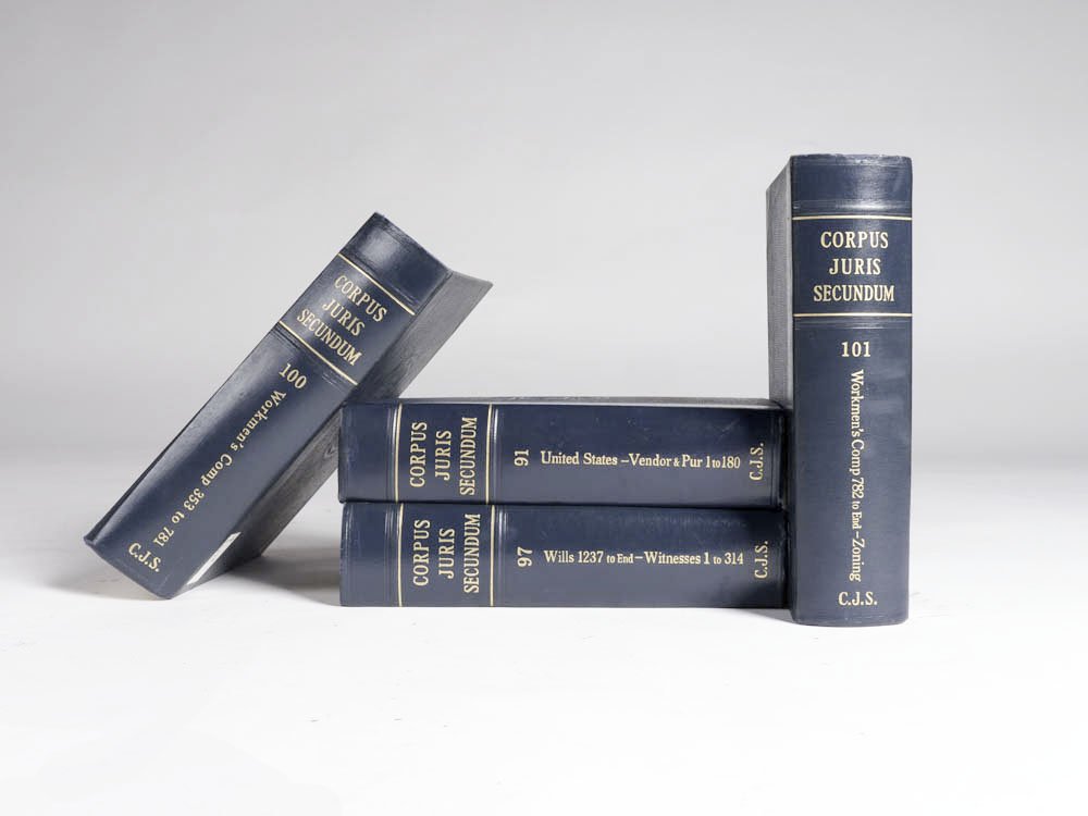 Drew Law Books, Set of Five 1 - Provenance Vintage Rentals Los Angeles Vintage Book Rentals Prop Rentals Party Rentals Specialty Rentals