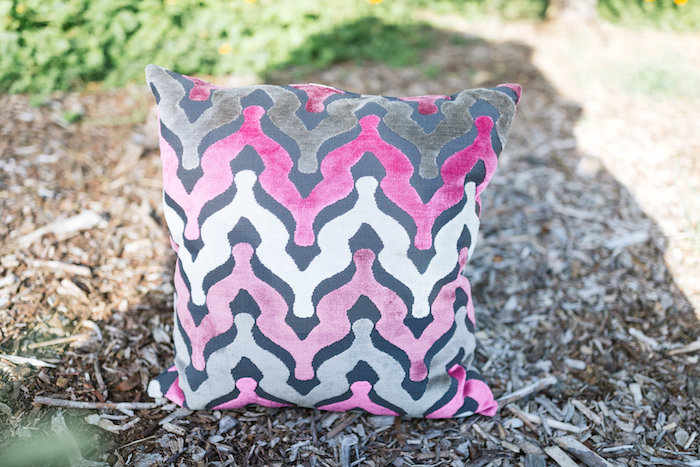 Gracie Pink & Grey Throw Pillow 1 - Provenance Vintage Rentals Los Angeles Vintage Rentals Near Me Modern Furniture Lounge Rentals Pillow Rentals Los Angeles Party Rentals Near Me Vintage Decor Wedding Rentals Lounge Rentals.jpg