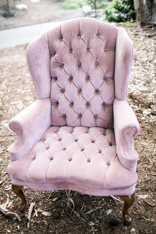 Robin Velvet Tufted Arm Chair 2 -  Provenance Vintage Rentals Los Angeles Pink Purple Vintage Tufted Armchair Furniture Rentals Los Angeles Prop Styling Prop Rental Party Rentals Los Angeles.jpg