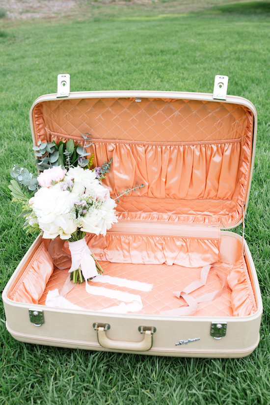 Tara Hardshell Luggage - Provenance Vintage Rentals Los Angeles Vintage Rentals Near Me Vintage Luggage Rentals Vintage Pink Suitcase Rentals Near Me Vintage Wedding Decor Near Me Party Rentals