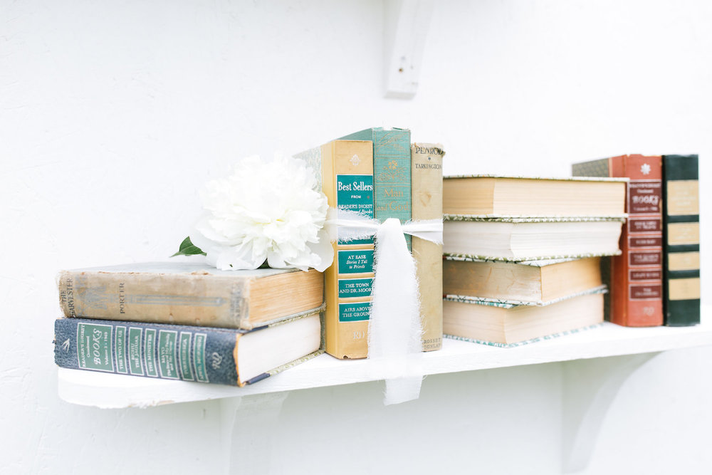 Esmeralda Green Decorative Books, Set of Three