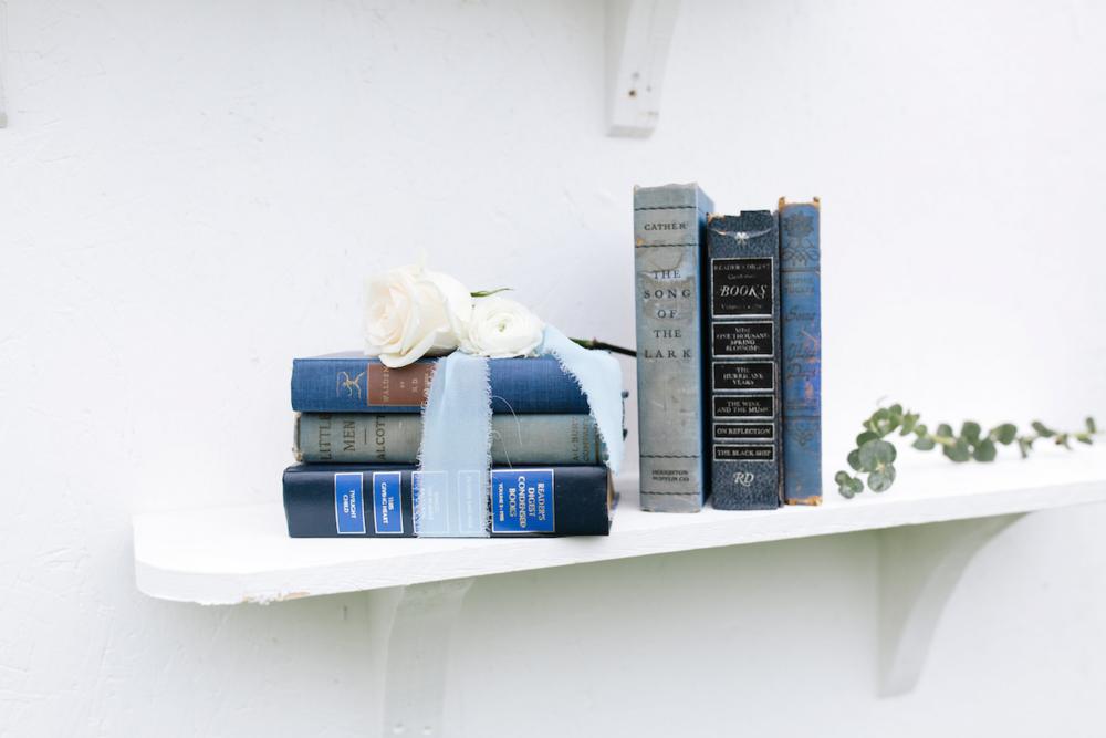 Kathleen Blue Decortive Books, Set of Three 2 - Provenance Vintage Rentals Los Angeles Vintage Rentrals Near Me Vintage Book Rentals Vintage Prop Rentals Prop Styling Party Rentals Near Me Los Angeles.png