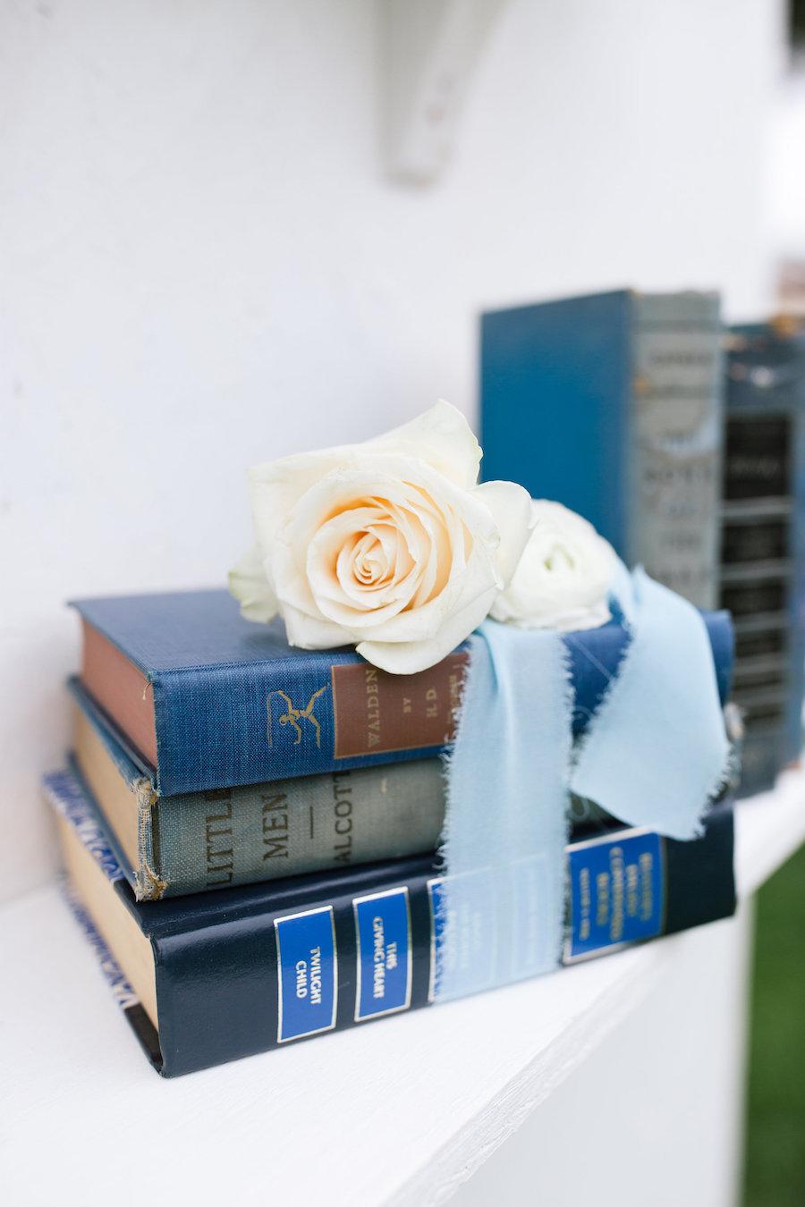 Kathleen Blue Decortive Books, Set of Three 4 - Provenance Vintage Rentals Los Angeles Vintage Rentrals Near Me Vintage Book Rentals Vintage Prop Rentals Prop Styling Party Rentals Near Me Los Angeles.jpg