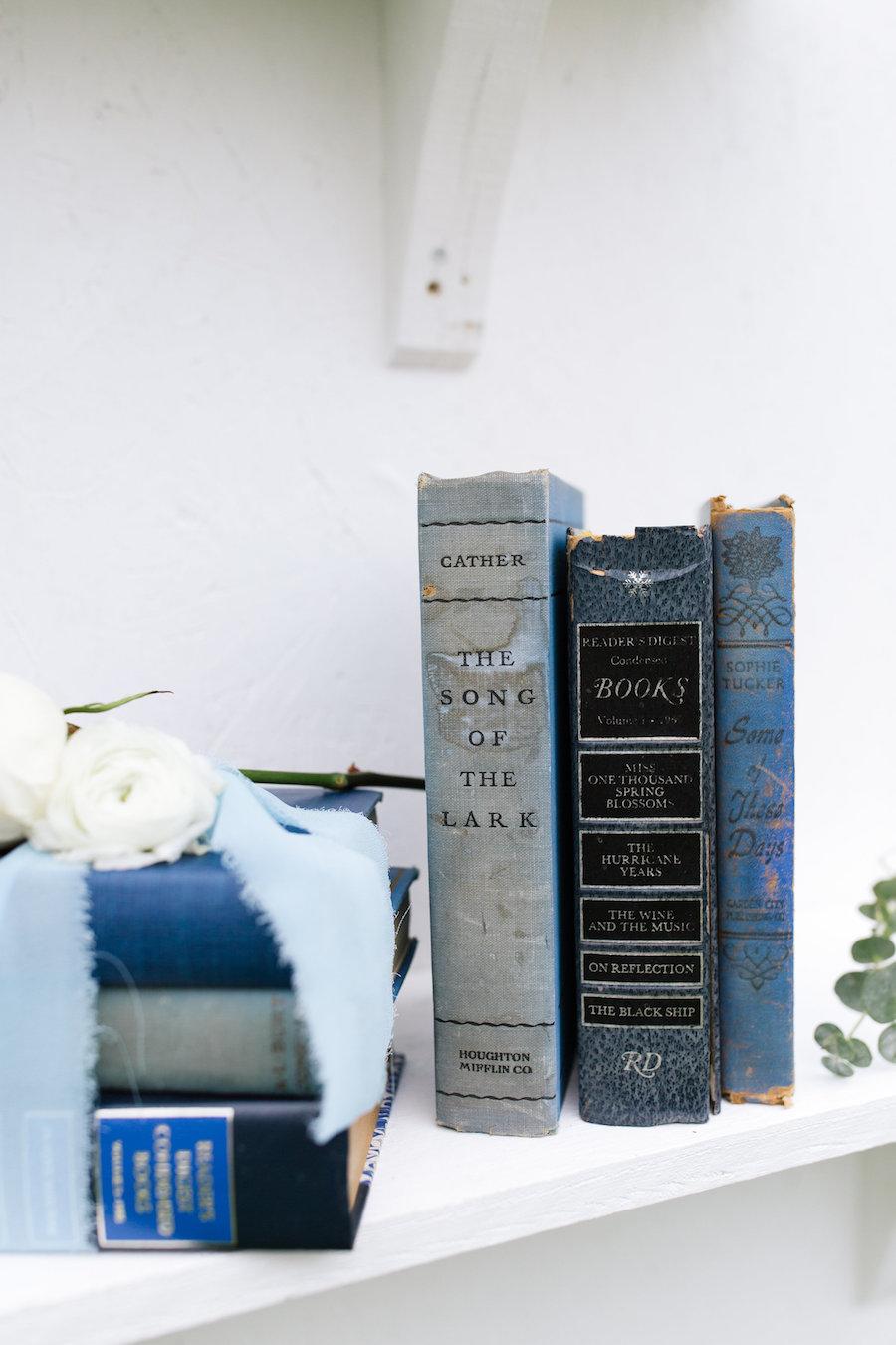 Kathleen Blue Decortive Books, Set of Three 5 - Provenance Vintage Rentals Los Angeles Vintage Rentrals Near Me Vintage Book Rentals Vintage Prop Rentals Prop Styling Party Rentals Near Me Los Angeles.jpg
