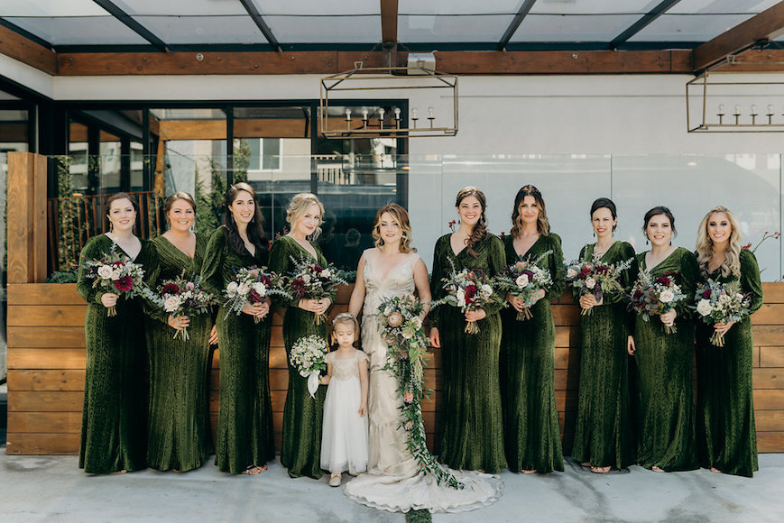 Featured on June Bug Weddings || The Venue by Three Petals | Photo by Kristin Soileau