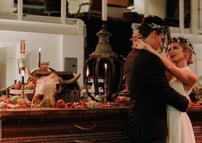 Cow Skull With Horns - Provenance Vintage Rentals Los Angeles Boho Rentals Near Me Boho Rentals Los Angeles Bohemian Wedding Decor Rental Romantic Wedding Inspiration Boho Wedding Decor Desert Wedding Prop Rentals Prop Styling Los Angeles