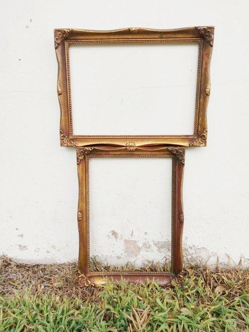 Marta Ornate Frames, Set of Two — Provenance Vintage Rentals
