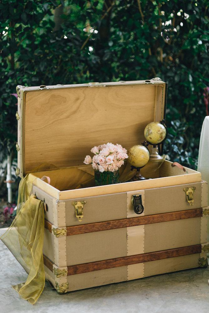 Rose Steamer Trunk 2 - Provenance Vintage Rentals Los Angeles Vintage Steamer Trunk Vintage Luggage Suitcase Rentals Travel Theme Wedding Decor Rentals Party Rentals.jpg