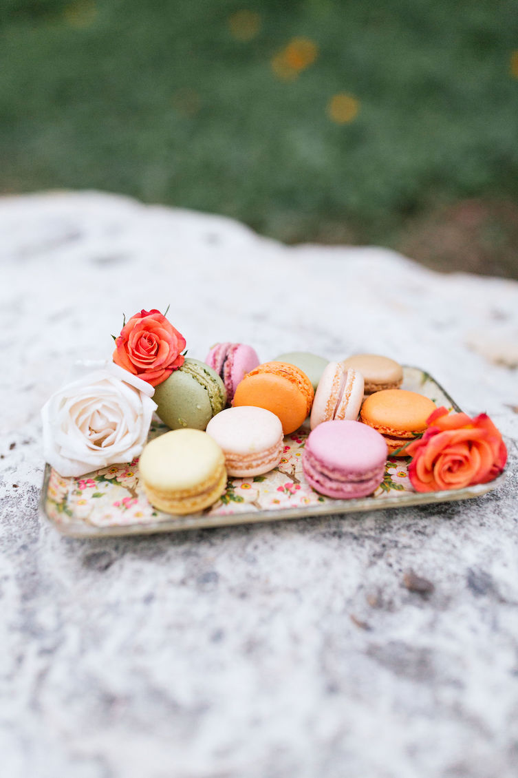 Vintage Cherry Blossom Tray