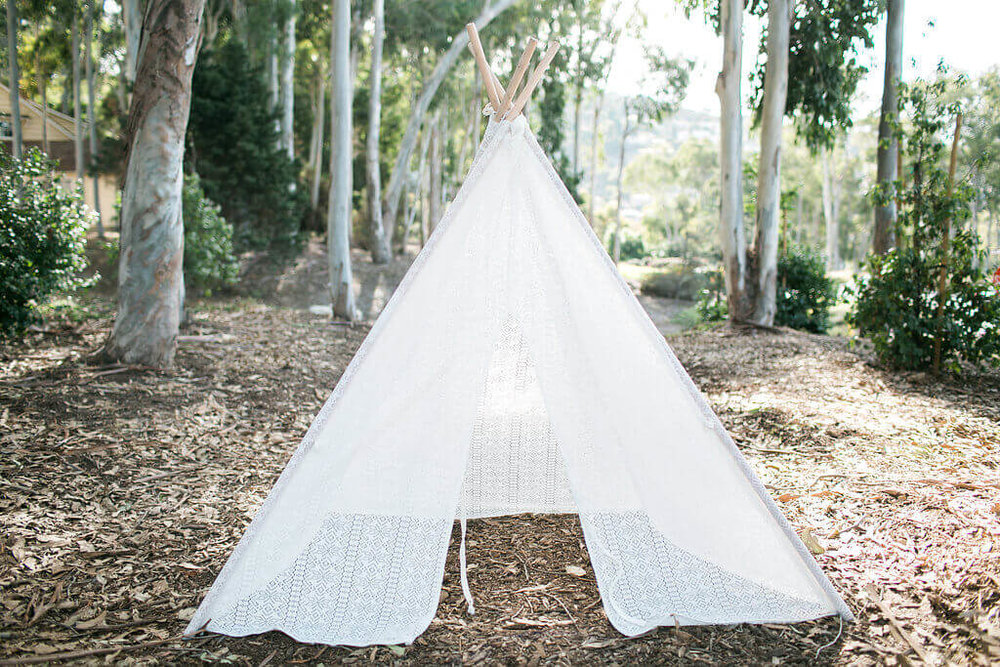 Bohemian Lace Tipi 2 - Provenance Vintage Rentals Los Angeles Bohemian Wedding Decor Boho Baby Shower Boho Vintage Lace Tipi Rentals Los Angeles Lace Teepee Rentals Los Angeles Prop Rental Party Rental Los Angeles.jpg