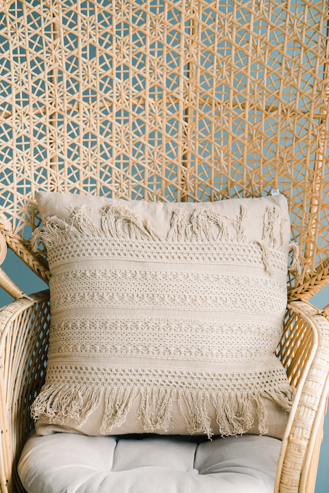 Arabella Crochet Pillow