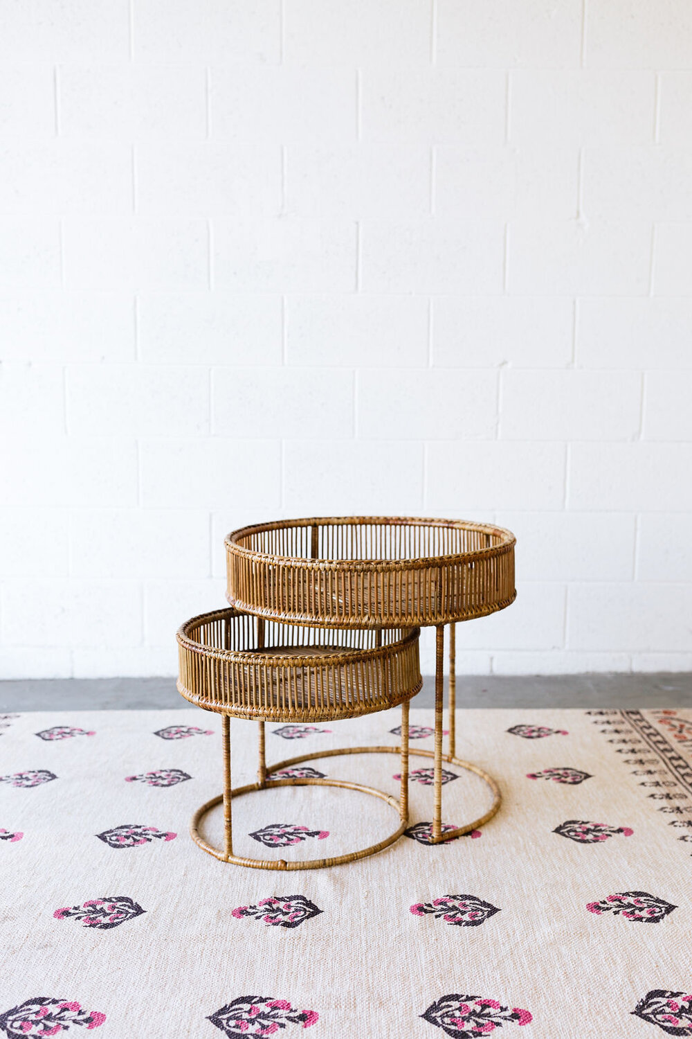 Delilah Bamboo Nesting Tables