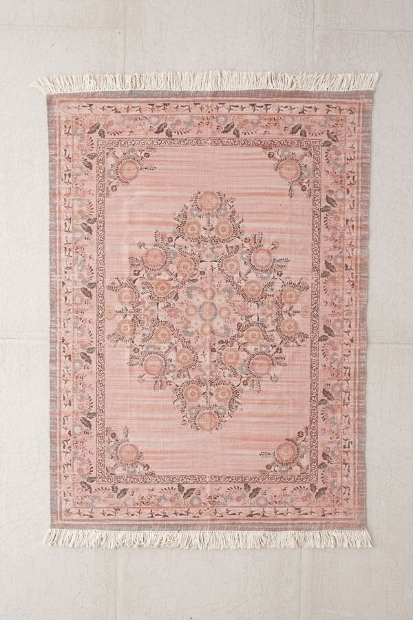 Linnea Pink Hand Knotted Rug