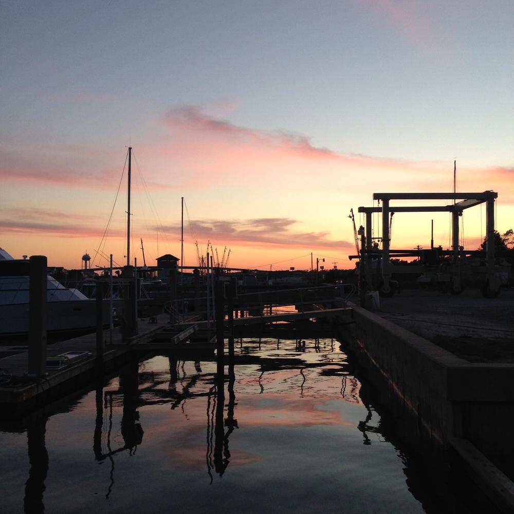 holden-beach-nc-sunset