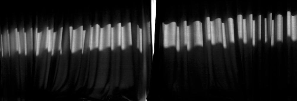 Curtain, 2012, archival pigment print, 34x100 cm