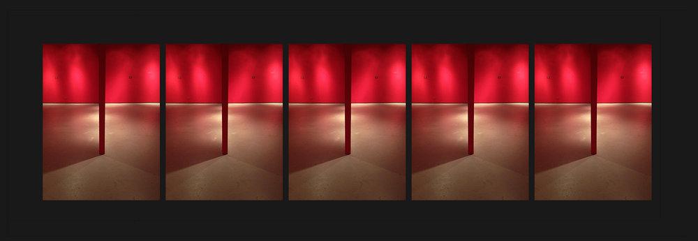Breugel in the shelter, 2012, archival pigment print, 40x150 cm