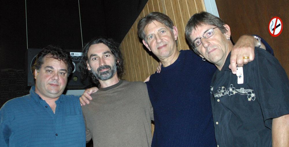 Peter Coyote doing the narration for  Flesh of the Gods  documentary Gary & I did together.