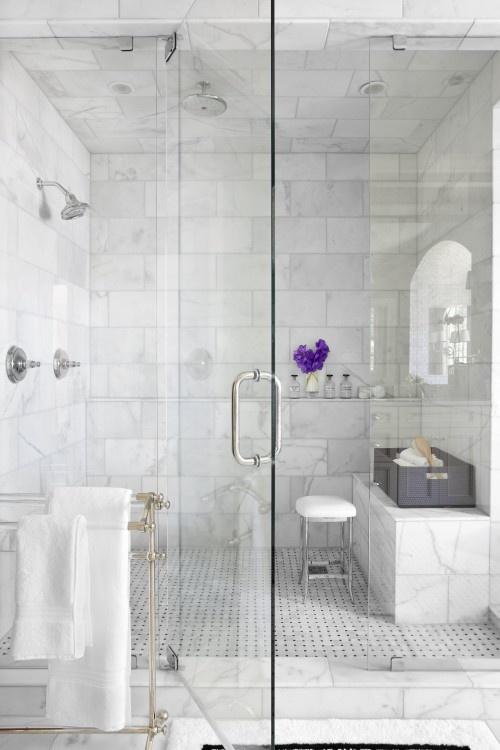 Image via Houzz -Niki Papadopoulos; Ansley Park Master Bath