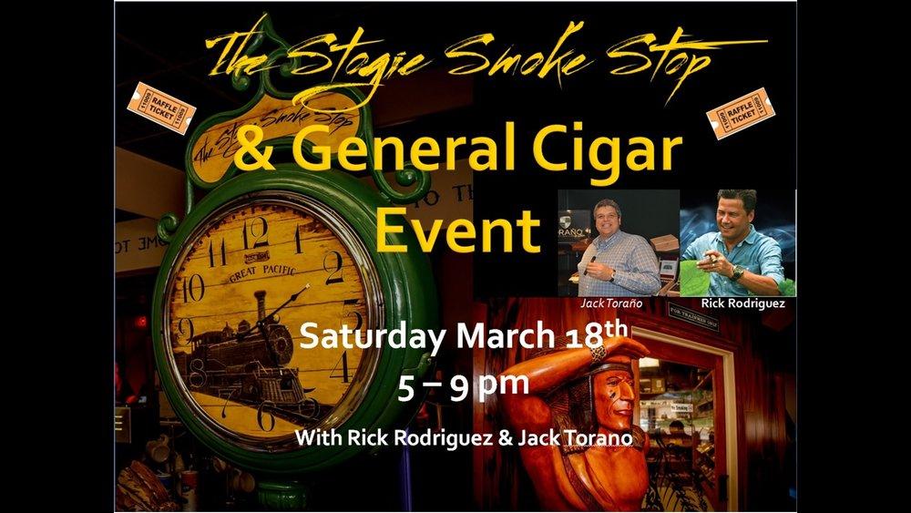 General Cigar Event w/ Rick Rodriquez & Jack Torano