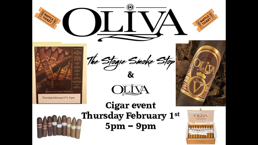 Oliva Cigar Event February 1st 5 - 9 pm