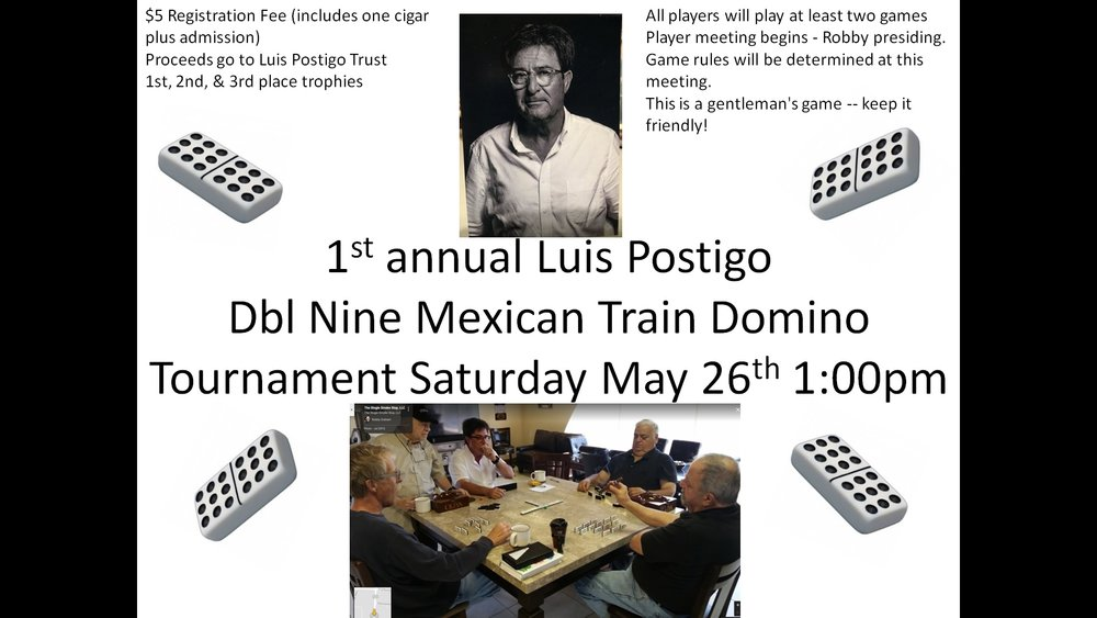 Domino tournament limited to 32 players