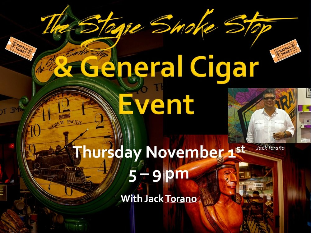 General Cigar Event w/ Jack Torano