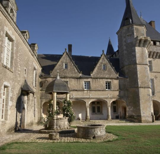 "In the heart of the Loire Valley, discover the wonderful Château de Talcy, where Ronsardwrote his most famous lines :""Mignonne, allons voir si la rose..."""
