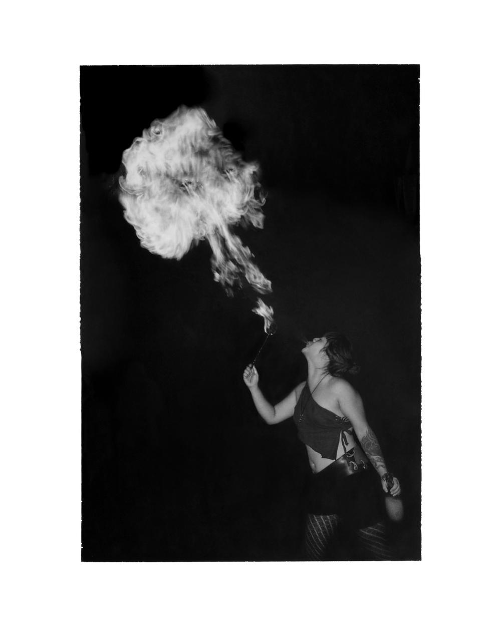 Sam Blows Fire