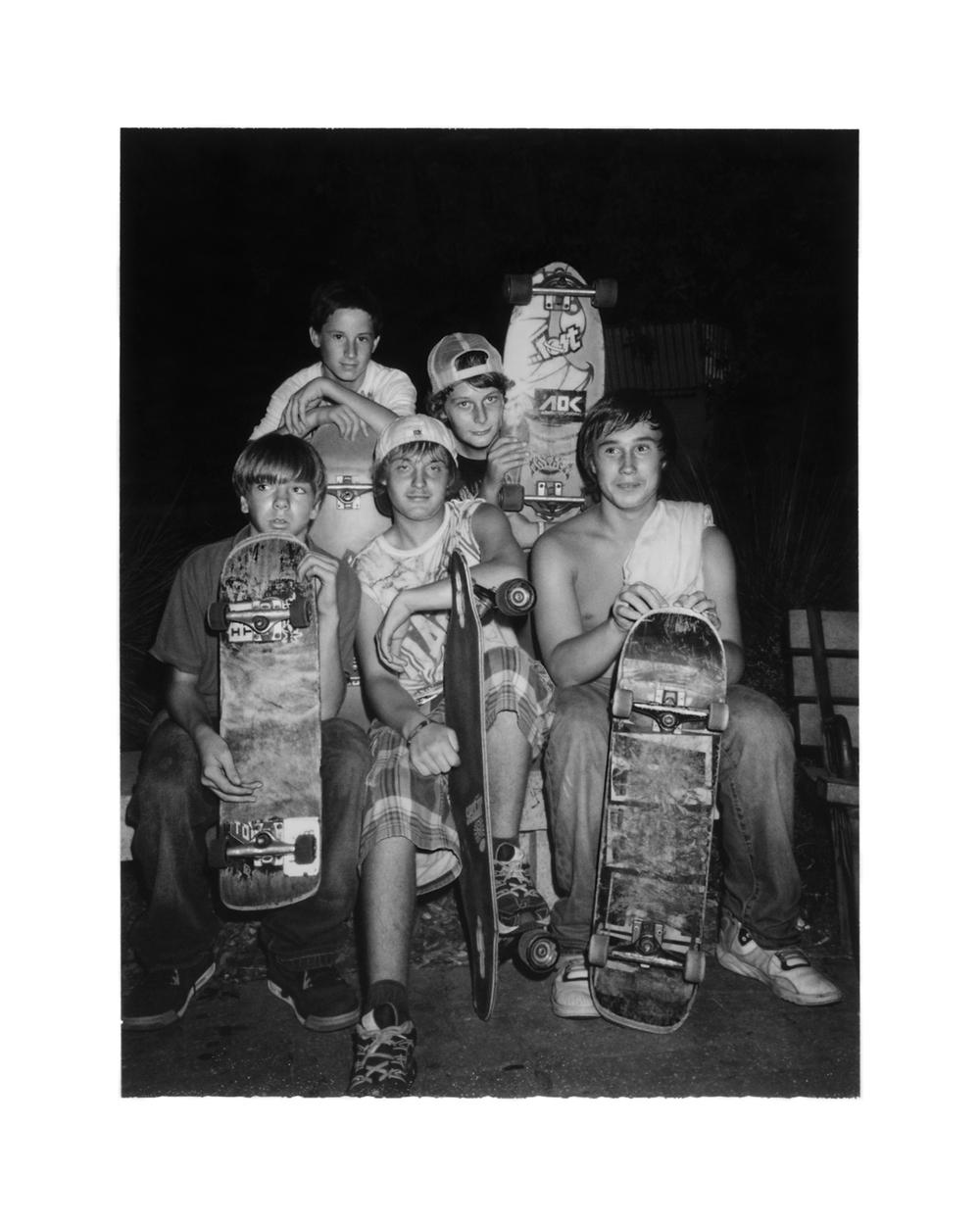 Tybee Skateboarders
