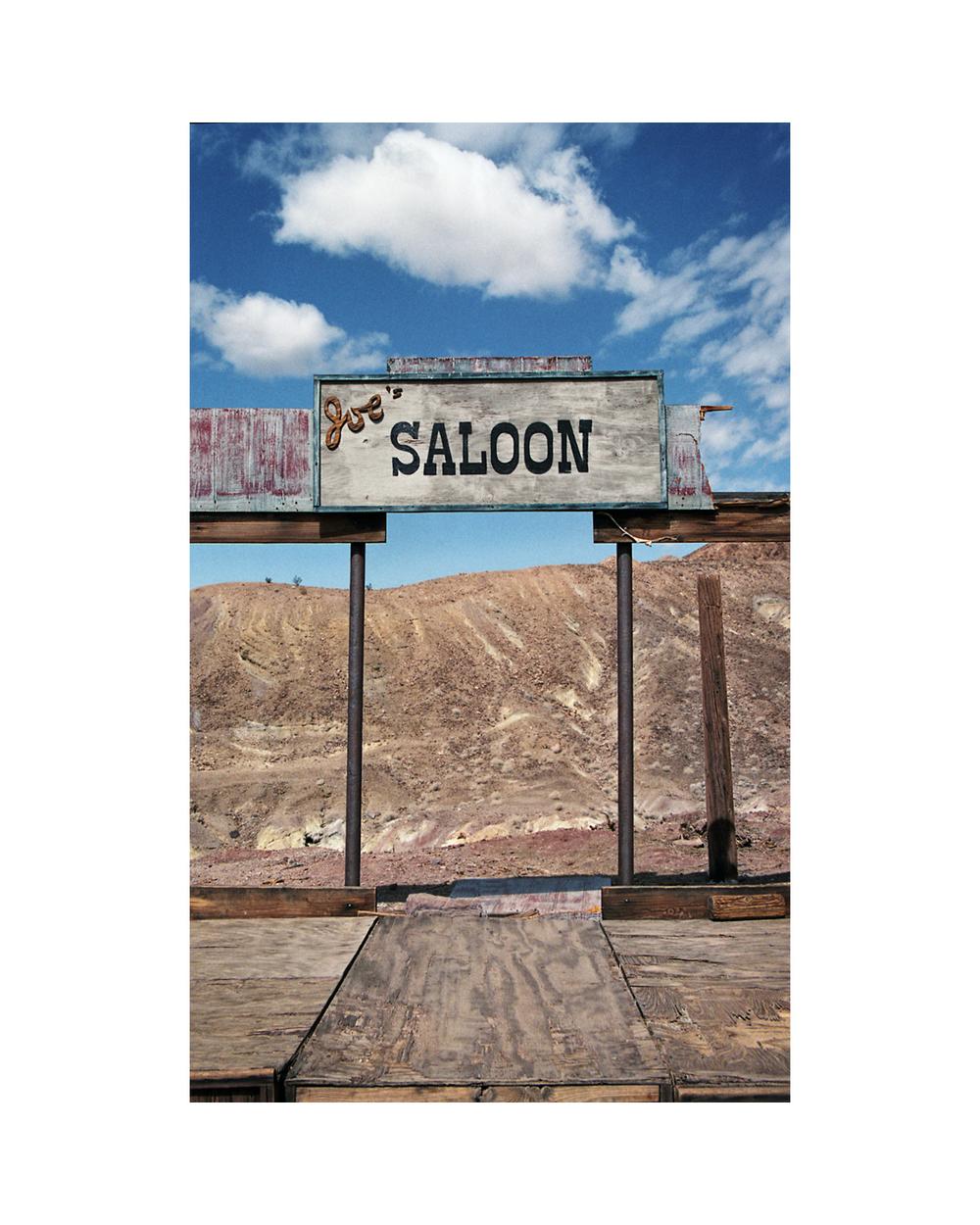 Joe's Saloon - Mojave Desert