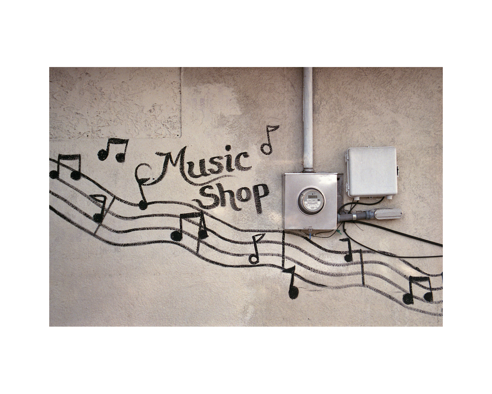 Music Shop - Montgomery Street - Savannah, GA