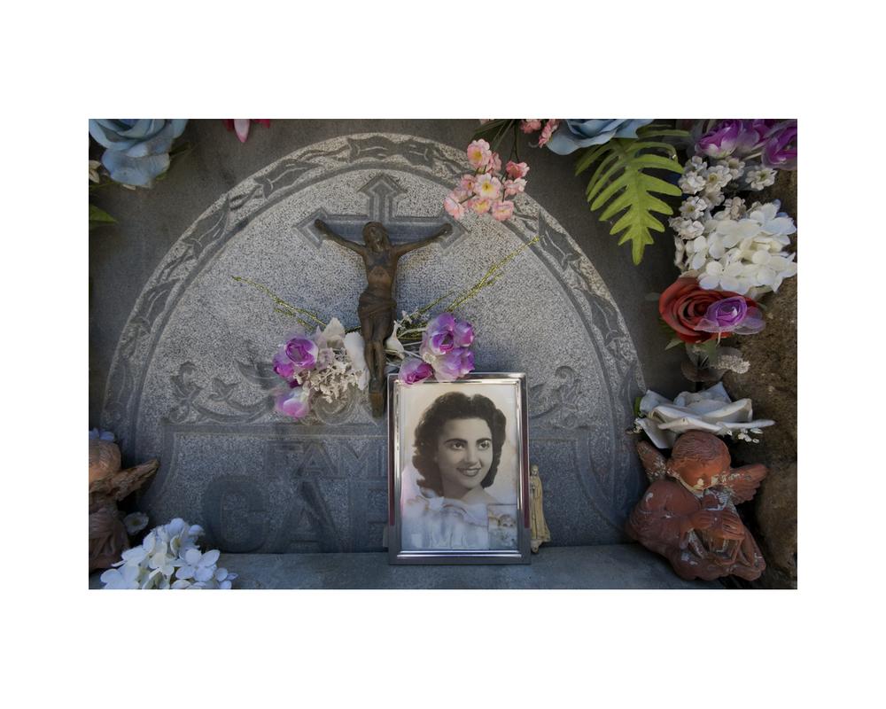 Grave in Barcelona