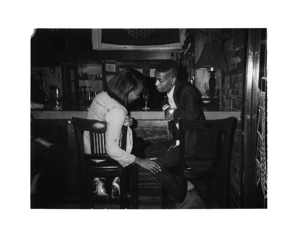 Couple at Persepolis Lounge