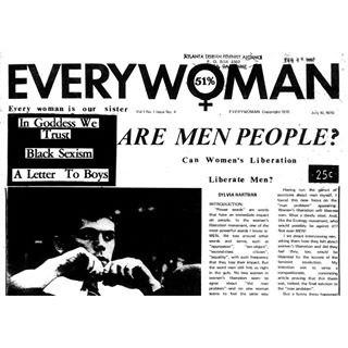 Everywoman 51% Zine - Copyright 1970