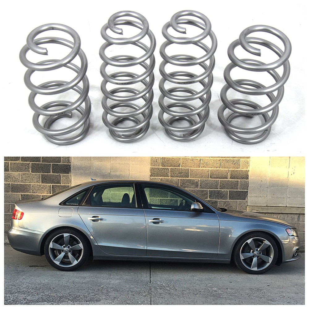 Audi A4 S4 B8 B8.5 Lowering Springs Quattro Or FWD Avant