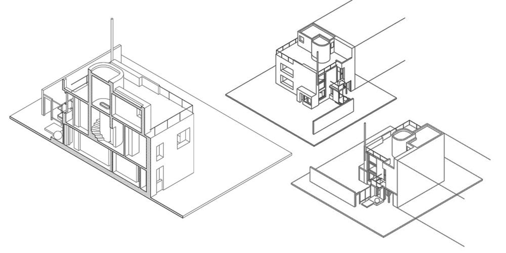 Archive plans House in Niegolewskiego Street, by Barbara Sokołowska Brukalski