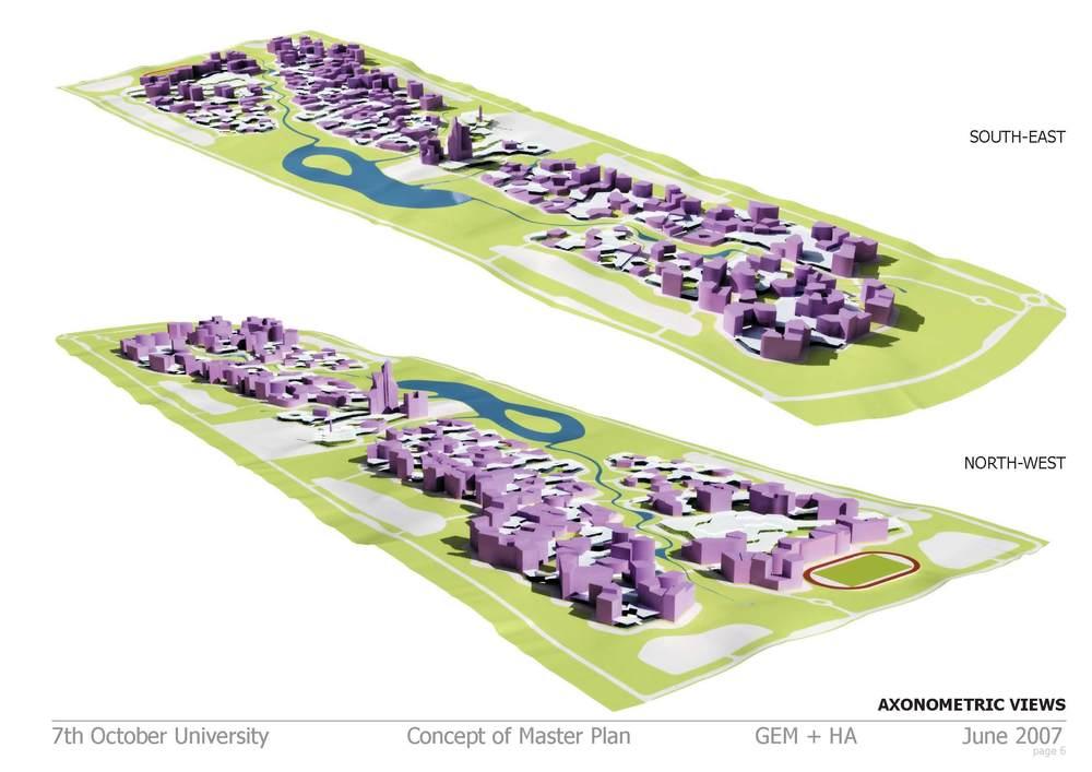 Plán univerzity Misurata