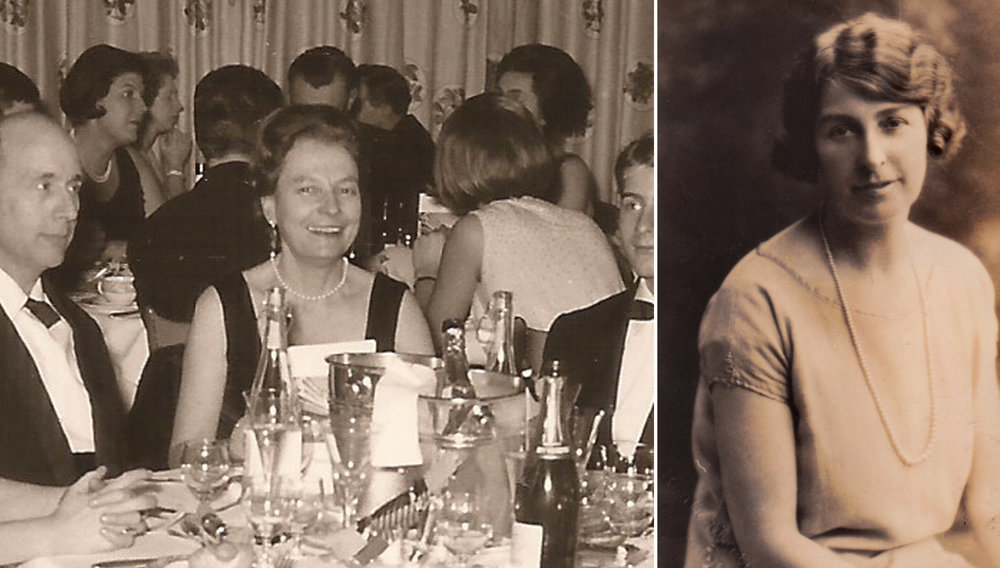 Elena Luzzatto Valentini, the first Italian woman architect  (left) and Florence Fulton Hobson, the first Irish woman architect (right), photo: Monica Prencipe research archive (c), Tanja Poppelreuter research archive (c)