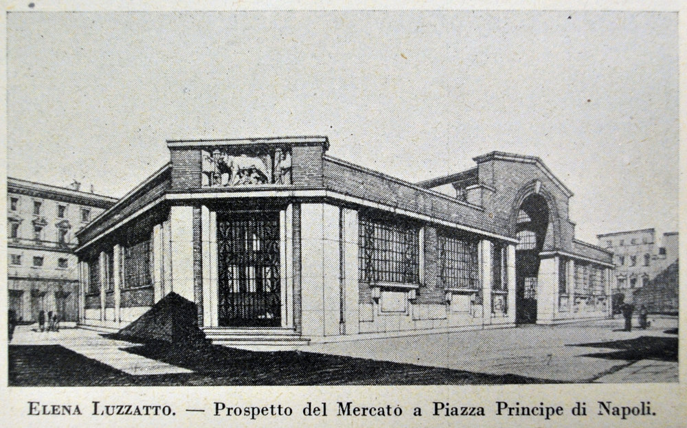 Mercatto Roma by Elena Luzzatto Valentini, 1935