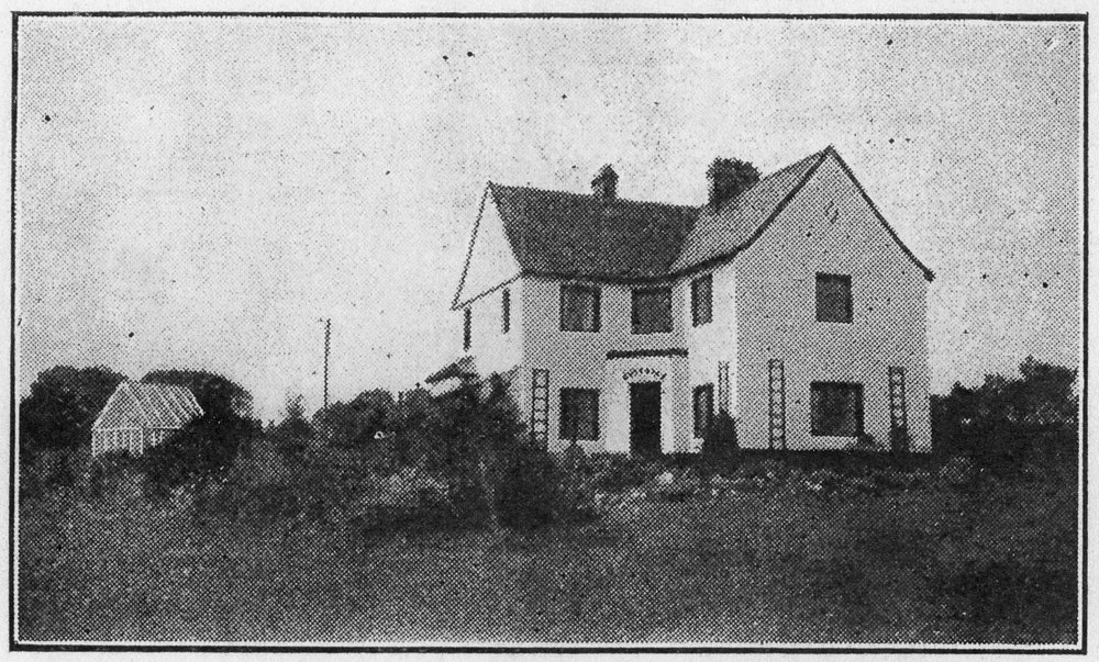 Family residence by Florence Fulton Hobson, Ireland