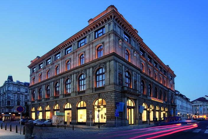 Palác Rytířská – centrálaČeskejspořitelne