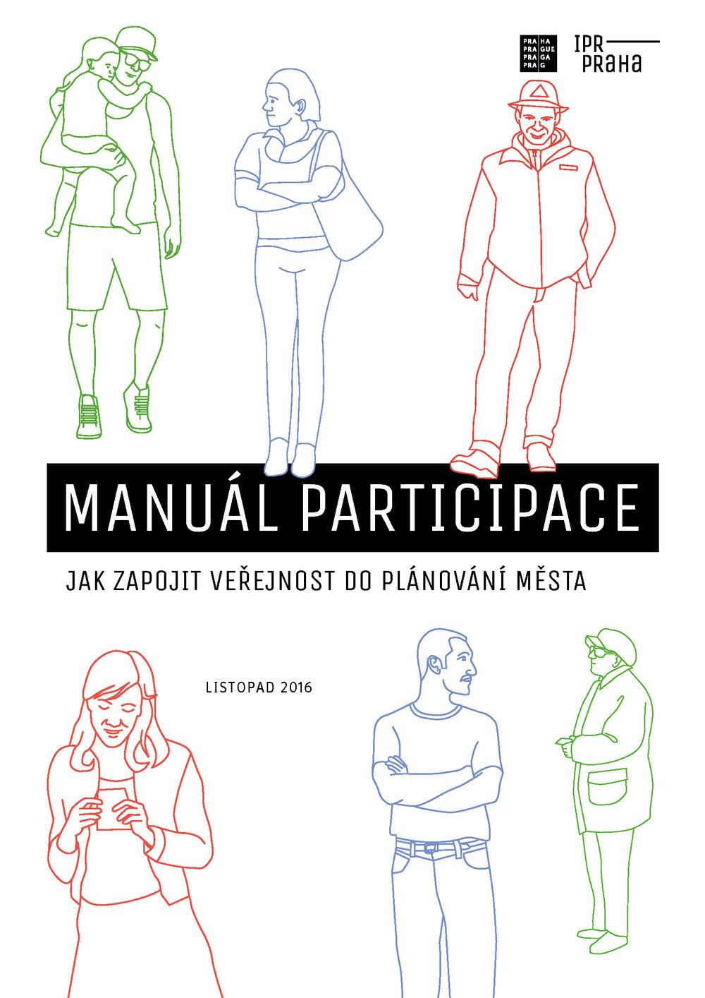 Manuál Participace, jednou z autorek je i Pavla Pelčíková  (c) IPR