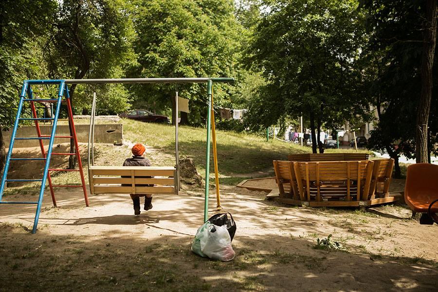 New children playground, photo: Nadzeya Tsaranok