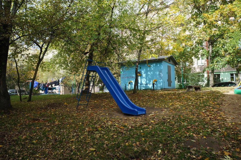 Revitalizované dětské hřiště, Minsk, foto: Nadzeya Tsaranok