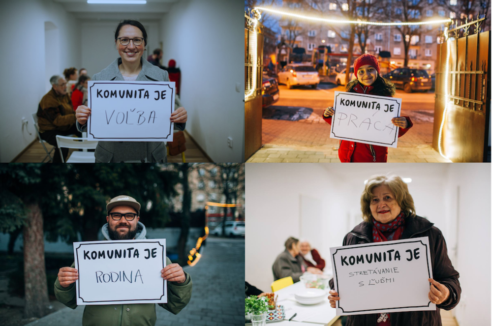Komunita je… foto (c) Marek Jančúch