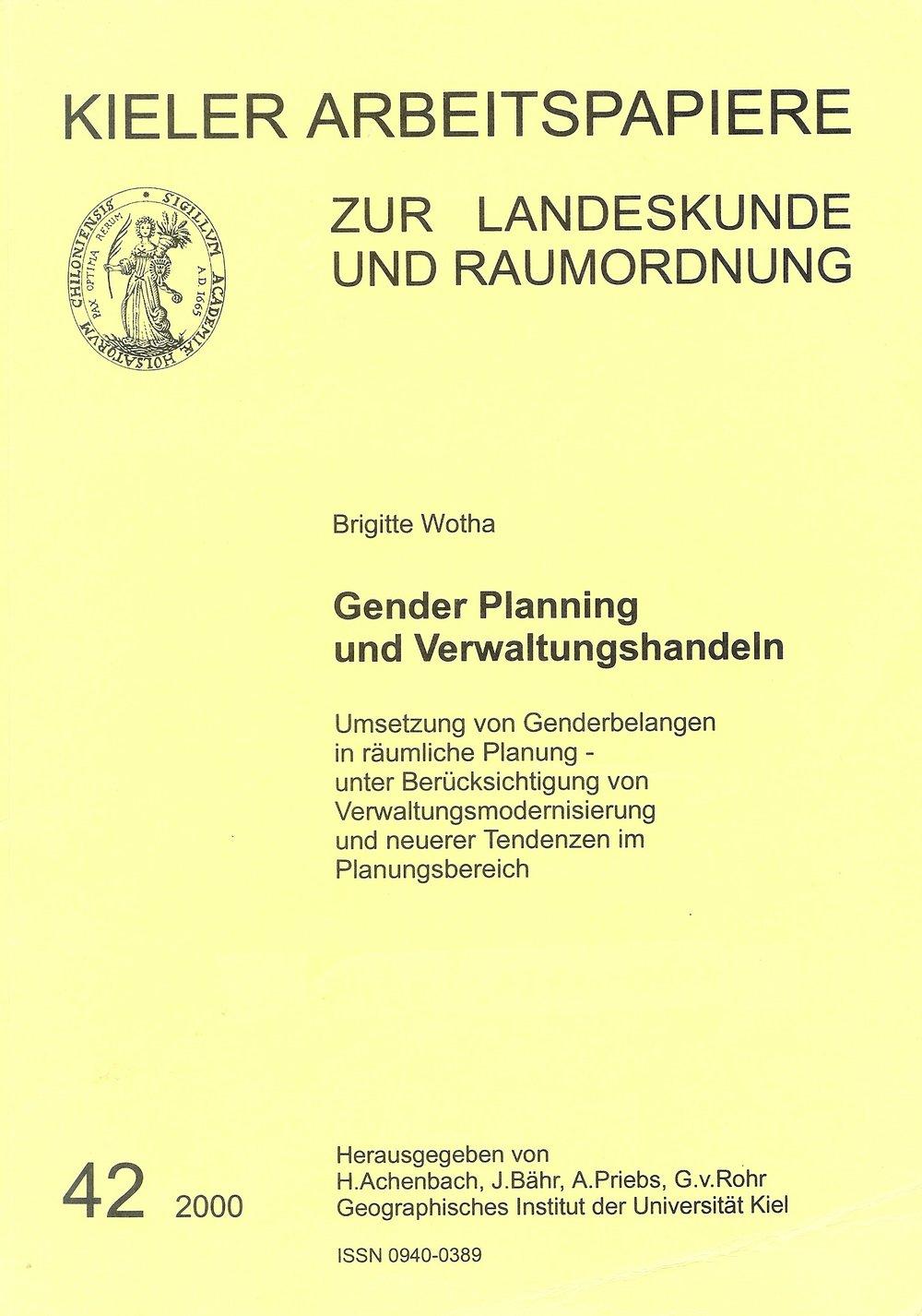 Gender mainstreaming v administrativě příručka od Brigitte Worthové