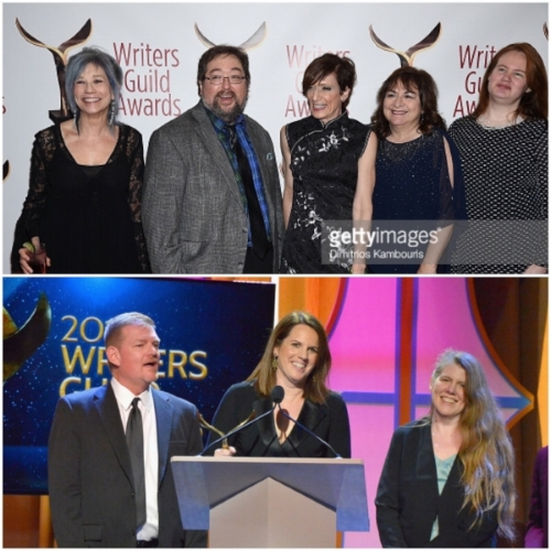 top: Anna Theresa Cascio, Scott Sickles, Shelly Altman, Jean Passanante, Suzanne Flynn. bottom: Dave Rupel, Elizabeth Korte, Katie Schock