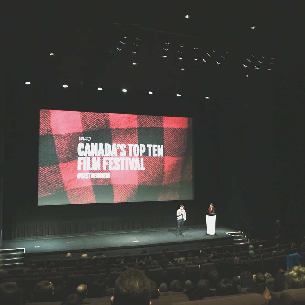 Director of  Pretty Dangerous  Dan Laera introducing the film at TIFF Canada's Top Ten Film Festival in January 2016.